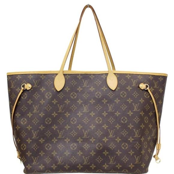 Louis Vuitton Handbags - LOUIS VUITTON NEVERFULL GM MONOGRAM CANVAS TOTE